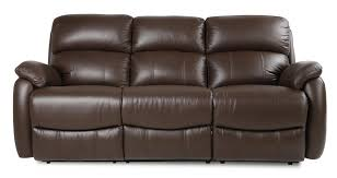 Dfs Recliner Sofa Dfs Navona Couch Brown Leather Settee 3 Seater Power Recliner Sofa