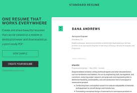 Standard Resume Standard Resumes Free Resume Templates Best Examples Of Resumes