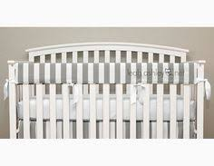 crib teething rail padded front cover with fabric ties 51 inches