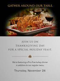 thanksgiving brunch chicago steakhouse new york promotions thanksgiving dinner