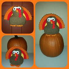 fall decorations sale crochet turkey decoration thanksgiving