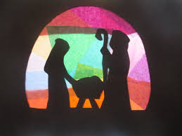 stained glass nativity u2013 let their light shine