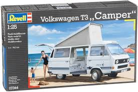 volkswagen models van revell 07344 volkswagen t3 camper model kit amazon co uk toys