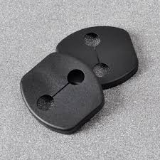 nissan tiida black dwcx 4pcs car black door striker cover lock protector for nissan