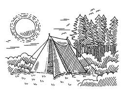 best 25 tent drawing ideas on pinterest simple drawing designs