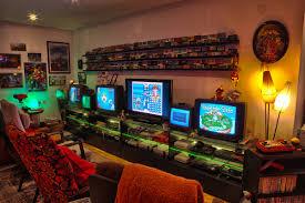 gaming setup u2013 stopxwhispering u0027s game room retro video gaming