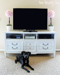 Update A Dresser How To Turn A Dresser Into A Tv Stand Diy Two Twenty One
