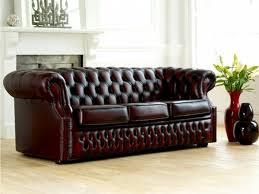 canapé cuir confortable le canapé cuir vintage le chic et le fabuleux confort qui ont