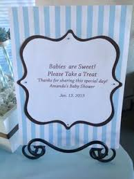 favor favor baby baby shower treat favor tag sign babies are sweet boy