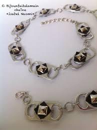 chambre à air éaire diy chambre à air comment faire un collier avec des canettes et