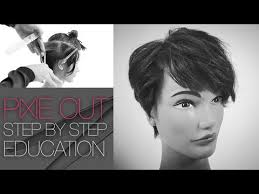 how to get lisa rinna s haircut step by step how to cut the tyra banks pixie haircut step by step q