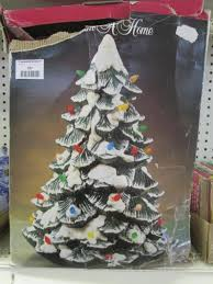 trim a home illuminated porcelain christmas tree current price 27