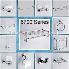 Cheap Bathroom Accessories Wall Mounted Bathroom Accessories Set Hardware Set For Bathroom