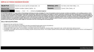 autodesk engineer cover letter u0026 resume