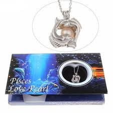 pearl wish necklace images Wish pearl zodiac necklace 100 real natural pearls jpg