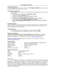 Qa Testing Sample Resume by Download Manual Test Engineer Sample Resume Haadyaooverbayresort Com