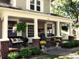 backyard porch designs for houses our vintage home love fall porch ideas