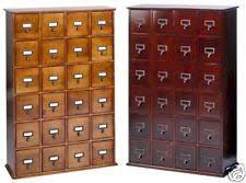 Oak Cd Storage Cabinet Solid Wood Cd Racks Ebay