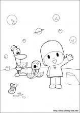 pocoyo coloring picture coloring pages pocoyo