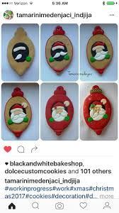 251 best santa goodies decorated cookies and cake pops images on