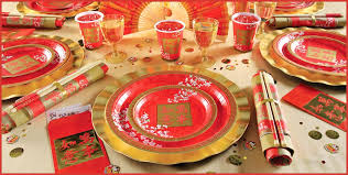 New Year Dinner Table Decoration by Chinese New Year Decoration Ideas For Home Chinese New Year
