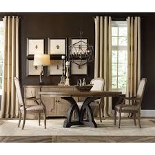 Hooker Furniture  Corsica Credenza In Dark Wood - Hooker dining room sets
