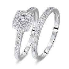 wedding rings trio sets for cheap wedding rings zales bridal sets cheap wedding rings sets for him