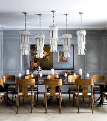 pillar candle chandelier dining room traditional with oversized
