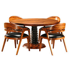 salerno round dining table u0026 chairs by brownstone furniture