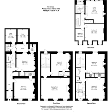 Georgian Floor Plan by 7 Bedroom Terraced House For Sale In 4 Hill Street Edinburgh