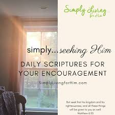 Seeking Where The Things Are Simply Seeking Him Day 4 Simply Living For Him