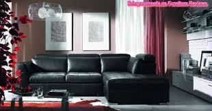 Black Leather Sofa Set Contemporary Living Room Furniture Chesterfield Sofa Set Design