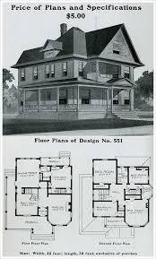 Victorian Mansion Floor Plans Old Victorian House Plans by 214 Best Vintage House Plans 1900s Images On Pinterest Vintage