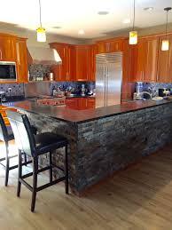 gourmet kitchen islands kitchen best 25 stacked stone backsplash ideas on pinterest