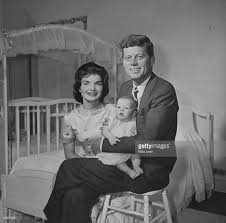 john f and jacqueline kennedy with baby caroline kennedy pictures