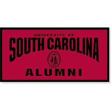 of south carolina alumni sticker of south carolina alumni 18 x 36 banner