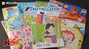 greeting cards kit unboxing tutorial s day