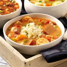 lot of 6 gumbo soup orleans gumbo recipe taste of home