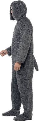 wilfred costume smiffy s men s fluffy dog costume all in one with