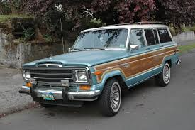 old jeep grand wagoneer old parked cars his and her jeeps 2 1986 jeep grand wagoneer