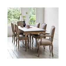 Avignon Wooden Dining Table  Seater Within Home - Solid dining room tables