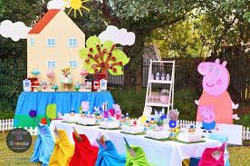 kara u0027s party ideas peppa pig 3rd birthday party kara u0027s party