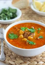 cuisine alg駻ienne traditionnelle chorba frik algérienne soupe traditionnelle cuisine culinaire