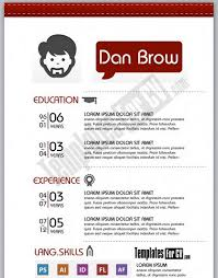 template cv artistic resume templates artistic resume template download 35