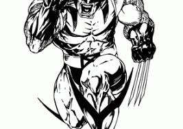 wolverine coloring pages page 2 of 2 coloring4free com