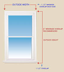 Installing Blinds On Windows How To Measure Outside Mount Blinds Window Treatments