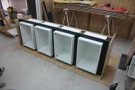 construire meuble cuisine meuble de cuisine suspendu comment fabriquer meuble tv suspendu