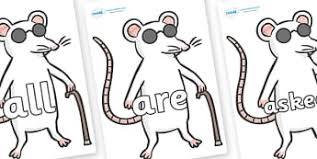 Are Mice Blind Three Blind Mice Primary Resources Nursery Rhyme Page 1