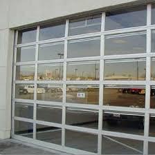 Overhead Door Windows A Clear Paneled Tilt A Door Can Turn A Dining Room Into Indoor