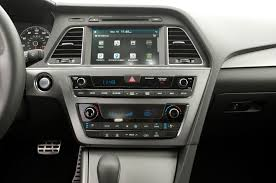 what is the eco button on hyundai sonata 2015 hyundai sonata interior spied automobile magazine